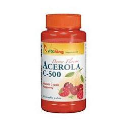 Vitaking Acerola C-500 Komplex rágótabletta, 40 db
