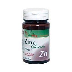 Vitaking Cink Glükonát 25 mg tabletta, 90 db