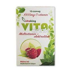Vitaking VitaDrink Italpor 88g, 10 db tasak