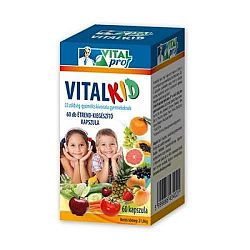 Vital prof vitalkid 22 multifrutti 60 db