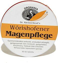 Wörishofener Magenpflege tabletta emésztési problémákra, 60 db