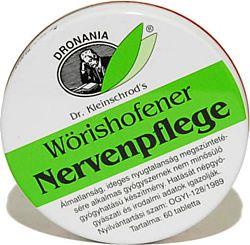 Wörishofener Nervenpflege macskagyökér tabletta, 120 db
