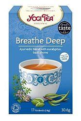 Yogi Bio Mély lélegzet tea, BREATHE DEEP, 17 filter