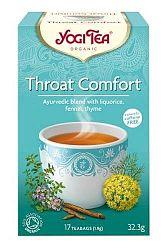 Yogi Bio Toroknyugtató herba tea, THROAT COMFORT, 17 filter