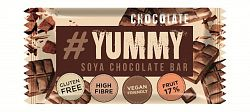 Yummy gyümölcsös-mogyorós gluténmentes szója szelet étcsokoládé darabokkal, 40 g