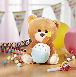 Zenélő maci  Happy Birthday