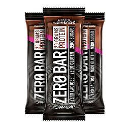 Zero Bar Fehérje szelet - Csokoládé-marcipán, 50 g