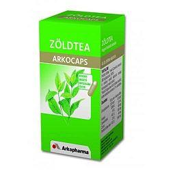 Zöld tea kapszula 45 db, Arkocaps - Fogyás