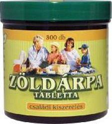 Zöldvér 100%-os zöldárpa tabletta, 300 db