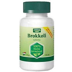 Zöldvér brokkoli tabletta, 150 db