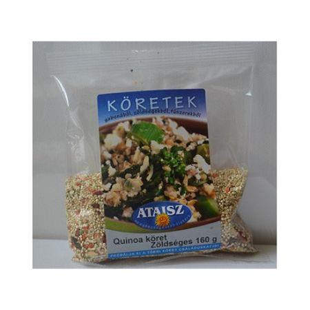 Ataisz Quinoa Köret Zöldséges, 160 g