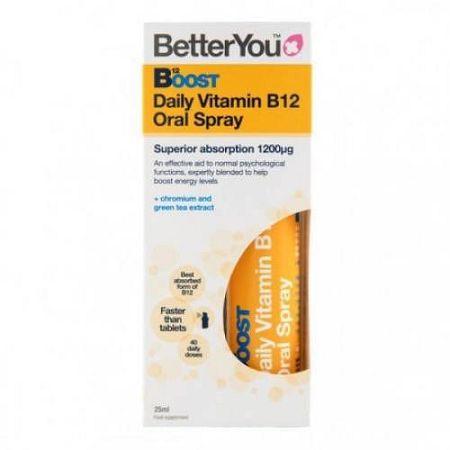 Better you boost pure energy szájspray, 25 ml