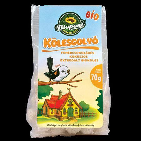 Biopont bio Kölesgolyó, 70 g - fehércsoki-kókusz