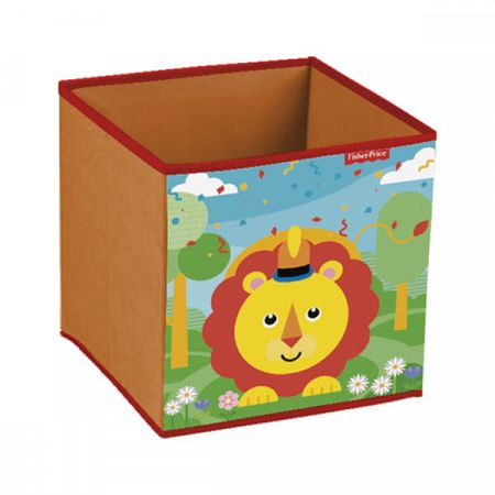 Childrens szövet tárolás box Fisher Price Lion