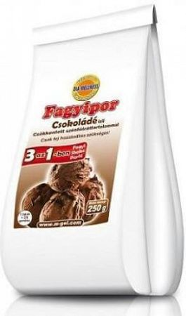Dia-Wellnes fagyipor, 250 g - csoki