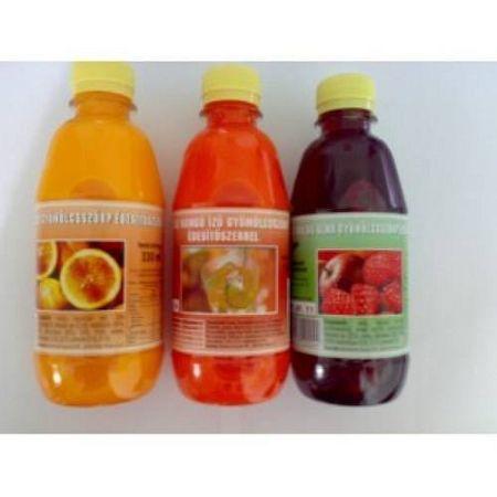Diabetikus gyümölcsszörp, málnás-almás 330 ml