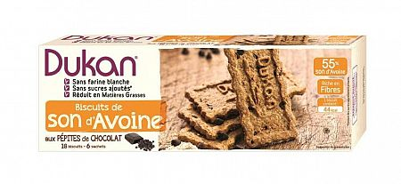 Dukan zabkorpa keksz csokimorzsalékos 225 g