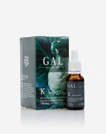 GAL K-komplex vitamin, 500 mcg K-komplex x 30 adag