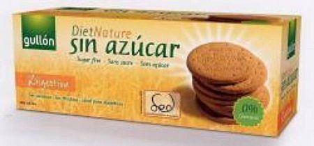 Gullón cukormentes Digestive korpás keksz, 400 g