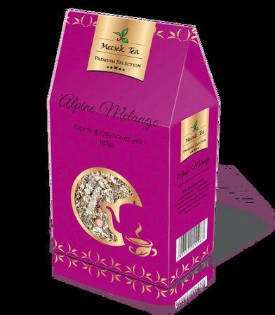 Mecsek Prémium Bio Alpine Melange – Alpesi gyógynövények teája 80g