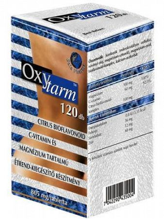 Oxytarm béltisztító tabletta 120 db