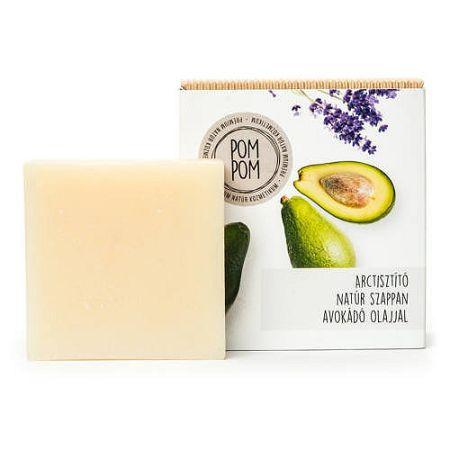 PomPom Arctisztító natúr szappan, 100 g
