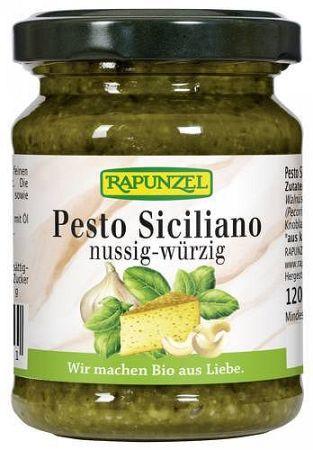 Rapunzel bio Pesto Siciliano fűszerkrém magokkal, 120 g