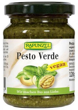 Rapunzel bio Pesto Verde fűszerkrém vegán, 120 g