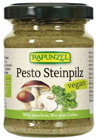 Rapunzel Pesto vargányagombás BIO, 120 g / 130 ml