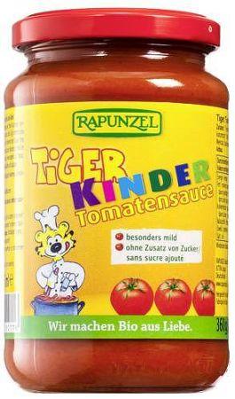 Rapunzel Tigris paradicsomszósz (gyerekeknek), vegán, 360 g