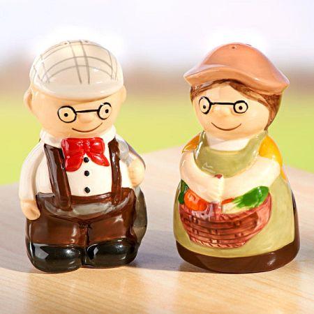 Só- és borsszóró  Nagymama + Nagypapa