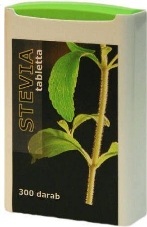 Stevia (sztívia) édesítő tabletta, 300 db