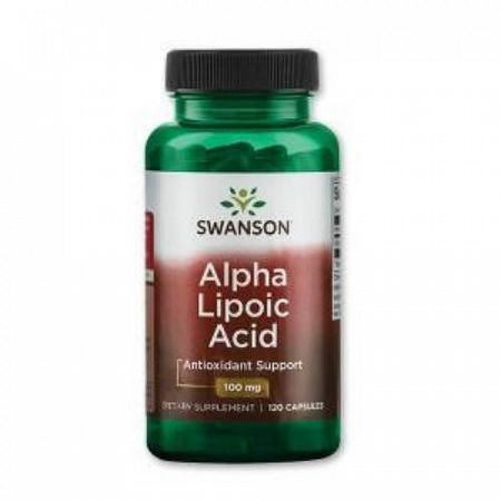 Swanson Alpha Lipoic Acid  100mg, 120 db kapszula