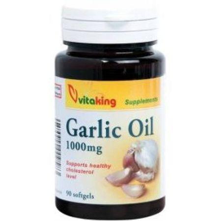 Vitaking Fokhagymaolaj lágyzselatin kapszula, 90 db