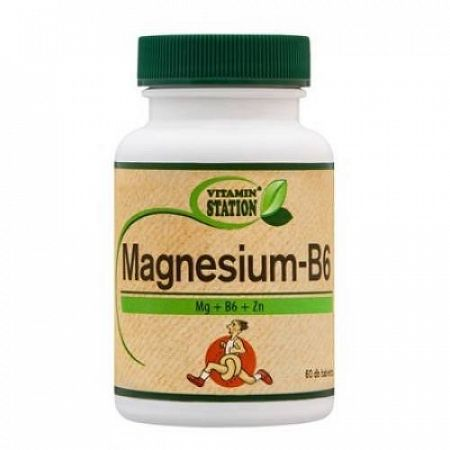Vitamin st. Magnézum b6, 60 db