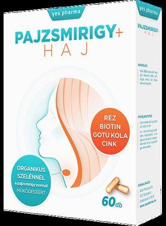 Yespharma Pajzsmirigy + Haj kapszula, 60 db