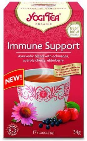 Yogi Bio Immunerősítő tea, IMMUNE SUPPORT, 17 filter